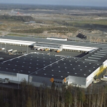Suomen Posti / Logistiikkakeskus, Helsinki 2004